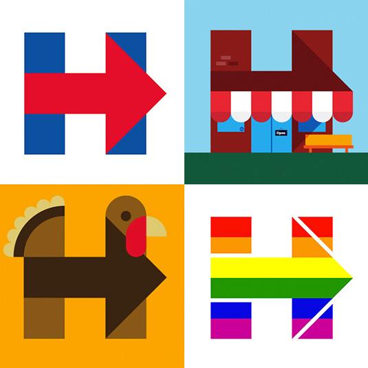 Jednoduchý dizajn, ktorý upozorní na politické odkazy